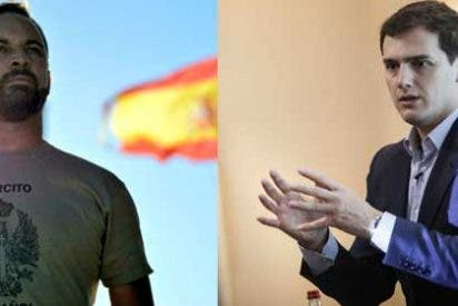 """Abascal estalla y personaliza su ira contra Ciudadanos en su líder Rivera: """"¿Guerracivilismo? ¡El vuestro!"""""""