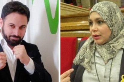 Santiago Abascal se mofa en un memorable tuit de la musulmana de ERC que llama machista a Vox