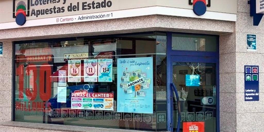 Roban 400.000 euros en una administración de lotería que vendió 'El Gordo' de Navidad