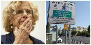 Carmena activa el protocolo anticontaminación cinco días después de inaugurar Madrid Central