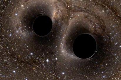 Así se vería un agujero negro desde la Tierra y esto pasaría se chocasen dos