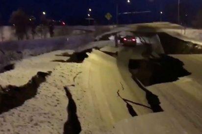 Declaran zona catastrófica en Alaska tras el terremoto de magnitud 7,0