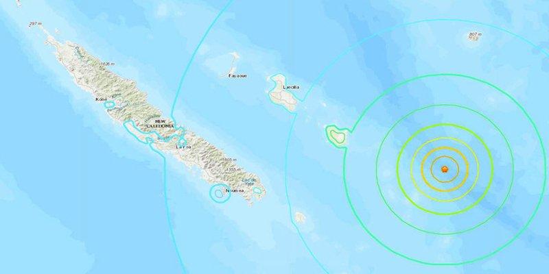 Alerta de tsunami tras un potente terremoto de 7,5 en las costas de Nueva Caledonia
