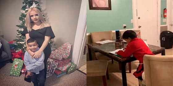 """¡In fraganti! Una madre pilla a su hijo de 6 años """"ayudándose"""" con Alexa de Amazon para hacer las tareas"""