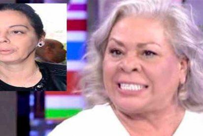 Bronca de escándalo en el tanatorio de Chiquetete: Carmen Gahona expulsa a la amante del cantaor