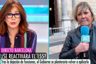 El soberbio 'zasca' de Ana Rosa Quintana a su colaboradora catalanista, Mayka Navarro