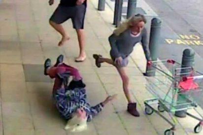 La perturbadoras imágenes de una anciana estrellando su cabeza contra el suelo tras recibir una patada de un facineroso