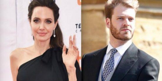 """Angelina Jolie, ¿La """"Sugar Mommy"""" del sobrino de la princesa Diana?"""