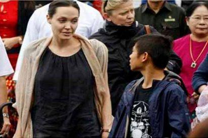"El secreto ""inconfesable"" que contó Angelina Jolie a uno de sus hijos para joder a Brad Pitt"
