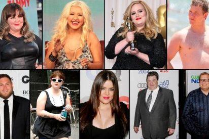Metamorfosis: el antes y después de las estrellas de Hollywood que se ponen a dieta