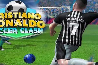 Cristiano lanza una aplicación para que los usuarios marquen goles como él