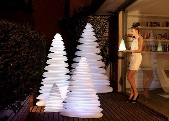 árboles de Navidad LED