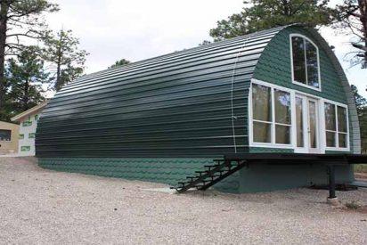 Estas casa se construye en 2 días y sólo cuesta 1.000 euros, pero ¡espera a verla por dentro!