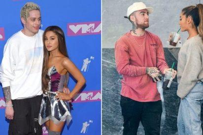 Ariana Grande oculta un tatuaje de su ex Pete Davidson con un homenaje a Mac Miller