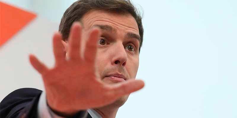 Albert Rivera ve 'irresponsable' descartar una negociación con VOX