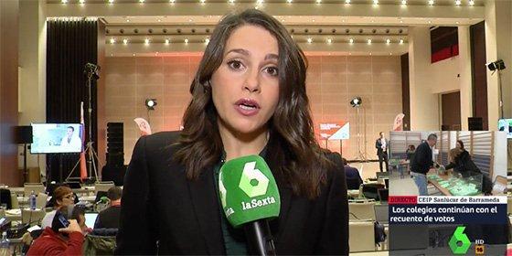"""Arrimadas carga el 'muerto' de VOX a Susana: """"El PSOE ha querido que el protagonista de la campaña fuera VOX"""""""