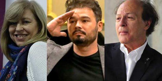 Los 'neutrales' y 'moderados' Rufián y Artal abonan el terreno para que El País despida a Javier Marías por volver a criticar al feminismo radical