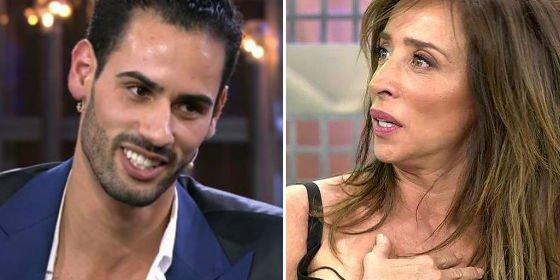Asraf ('GH VIP 6') se presenta en 'Sálvame' sin saber quién es María Patiño y explota una guerra