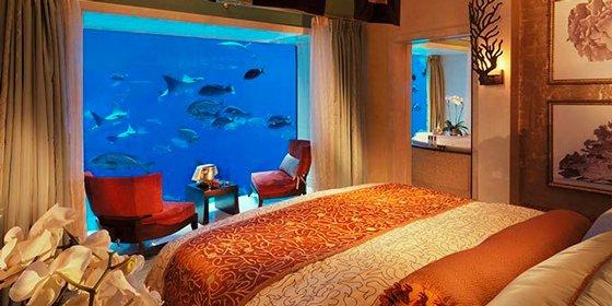 Hoteles bajo el mar: Atlantis, The Palm, Dubái