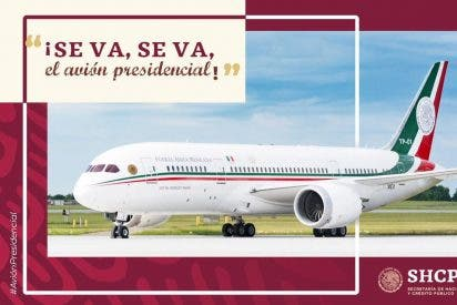 A la venta el lujoso avión presidencial de México (Fotos)