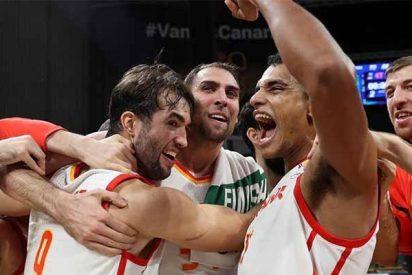 Baloncesto: España vence a Ucrania y sella su pase al Mundial