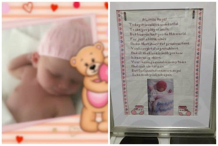 El beso de la muerte: Una madre pierde a su bebé recién nacido por un simple gesto de cariño
