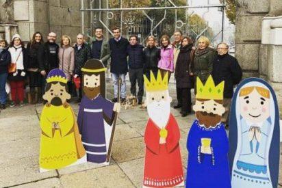 El PP llama a todos los madrileños a colocar sus Belenes en la Puerta de Alcalá para darle en los morros a Carmena