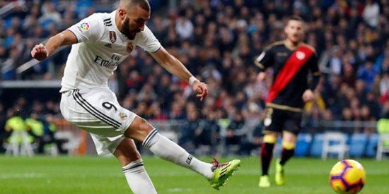 El Real Madrid sufre la peor sequía goleadora de la última década