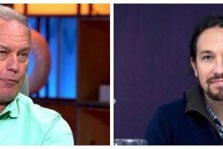 """Bertín Osborne hunde en la miseria a Pablo Iglesias: """"Yo no le voto ni muerto y ni borracho de vino"""""""