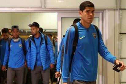 El Boca Juniors ya está en Madrid para la final de la Copa Libertadores