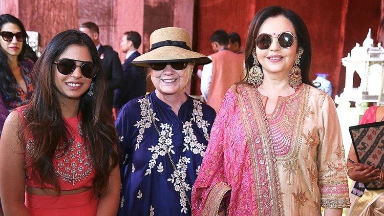 La boda del siglo: Jets privados, cinco días de fiesta y 5.000 invitados del nivel de Beyoncé y Hillary Clinton