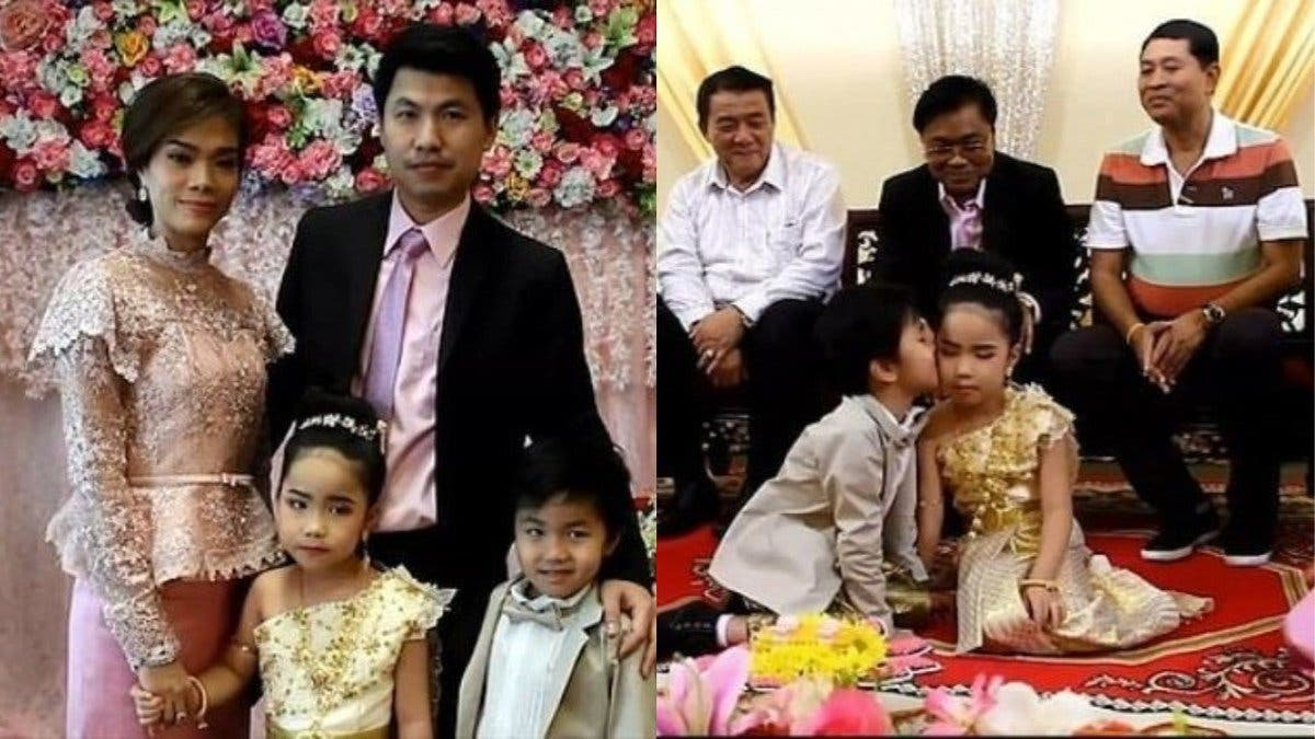 """Padres casan a gemelos de 6 años porque """"en la otra vida fueron amantes"""""""