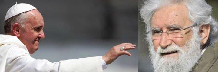 Francisco felicita a Leonardo Boff por su 80 cumpleaños