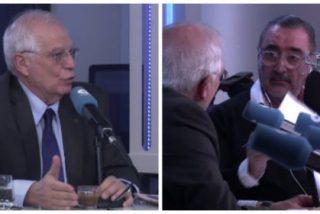 """La entrevista-masaje y de amiguetes de Herrera a Borrell: """"Le tenemos admiración ilimitada"""""""