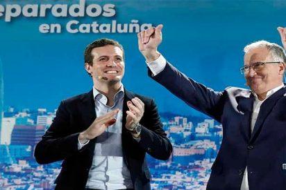 Pablo Casado llama 'desequilibrado' a Torra e insta a Sánchez a tomar ya el control de los Mossos