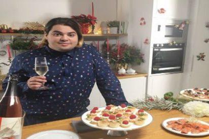 El actor Brays Efe protagoniza la campaña de Navidad de la DO Cava en redes sociales