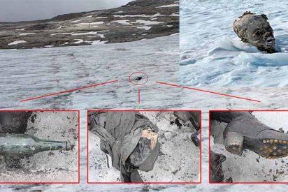 El calentamiento global está sacando un montón de cadáveres que estaban escondidos bajo el hielo de los glaciares suizos