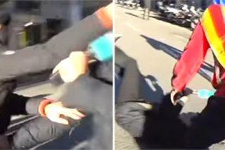[VÍDEO] Brutal agresión de los 'catabatasunos' golpistas de los CDR al reportero Cake Minuesa