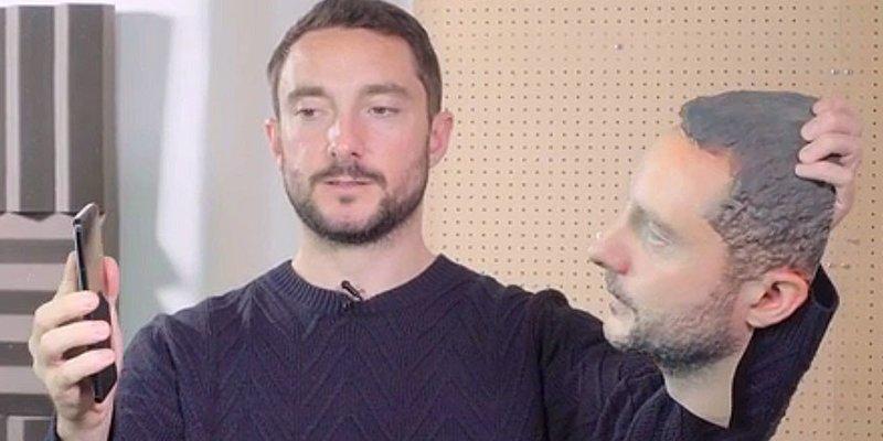 Imprime una cara en 3D para intentar burlar el reconocimiento facial de los móviles