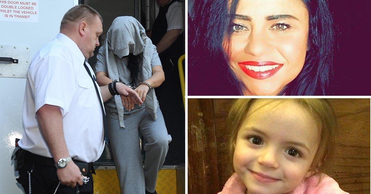La madre que ahogó y quemó a su hija de cuatro años se libra de prisión