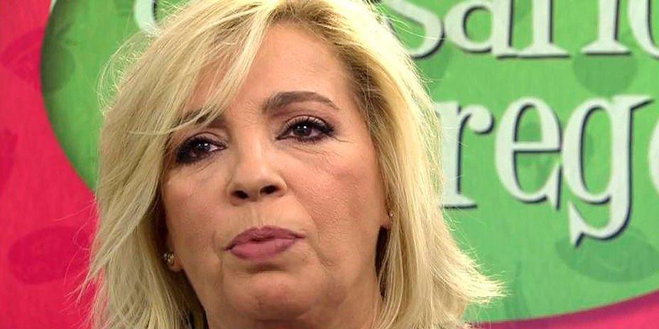 """Carmen Borrego no soporta más su reto en 'Sálvame': """"Me siento fatal, me da vergüenza"""""""