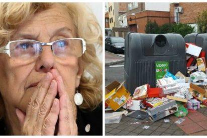 La falta de limpieza ahoga las calles de Madrid tras la dejadez de Manuela Carmena