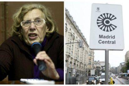 El 'fake' de Madrid Central: Ni policías, ni multas, ni nada más que fanfarria