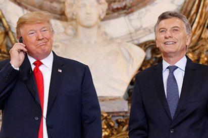 Tump se burla del traductor de la Casa Rosada