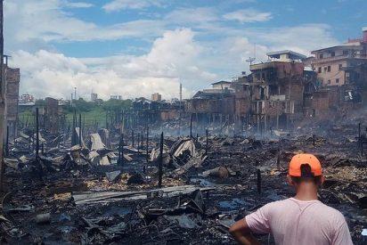 La Iglesia de Manaos responde con urgencia y solidaridad ante el incendio que devastó 600 casas
