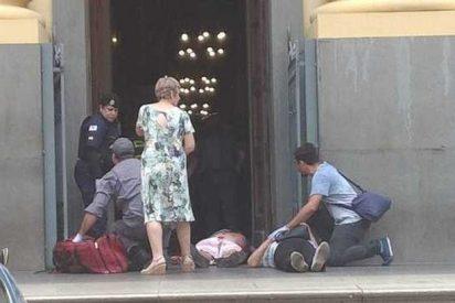 Brasil: Las imágenes de cómo ocurrió la masacre en la catedral de Campinas
