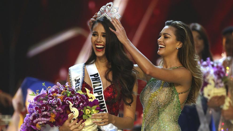 Catriona Gray, la hermosa filipina se queda con la corona del Miss Universo 2018