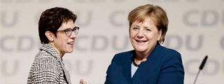 La CDU elige a Kramp-Karrenbauer como sucesora de Merkel
