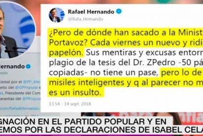 Estos del PSOE y sus patibularios compinches no son más tontos porque no entrenan