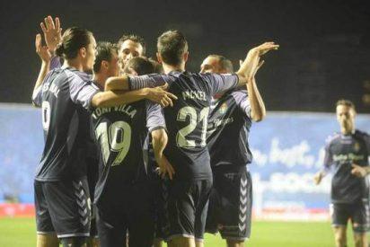 Triunfo trabajado del Real Valladolid en Anoeta